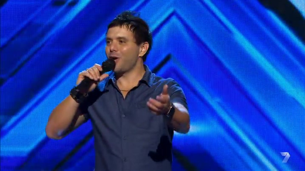 Laurence X Factor Spot 1