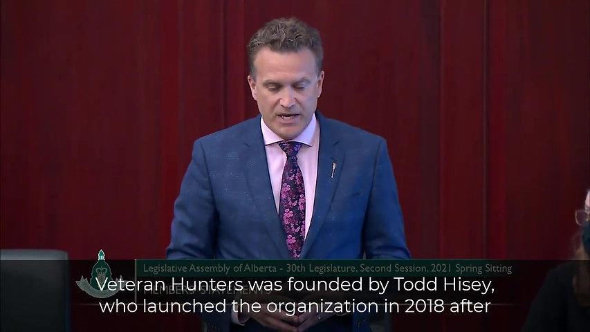 MLA Peter Guthrie Addresses the AB Legislature