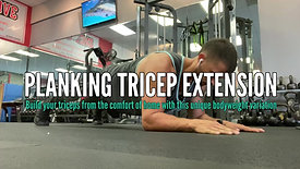 PLANKING TRICEP EXTENSION