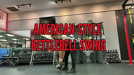 AMERICAN STYLE KETTLEBELL SWING