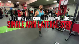 LATERAL STEP W/ DUMBBELL