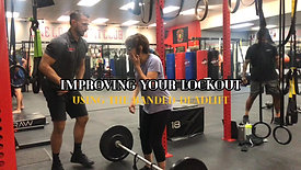 IMPROVING YOUR LOCKOUT USING THE BANDED DEADLIFT