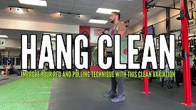 HANG CLEAN