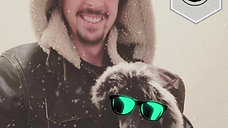 Social Media Picture Example w/ Sunglasses and Snow