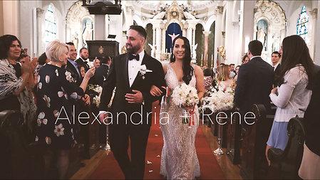 Alexandria + Rene Wedding Highlight