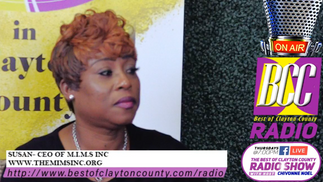 The Best of Clayton County Radio Show 08/13/2020 Susan with The MIMS Inc AND LaDonna Hampton