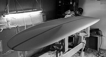 Le shape de notre premier longboard !