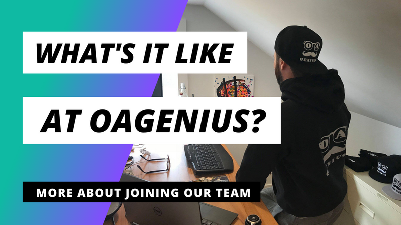 Why should you work at OAGenius?