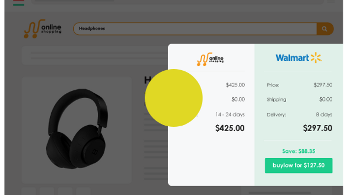 Shop smart with the buylow Chrome extension