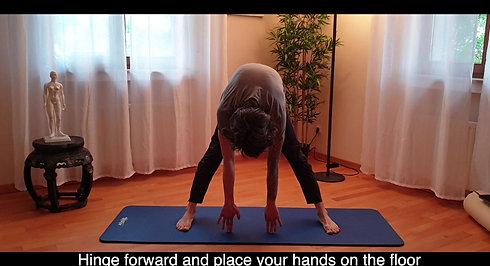 Wide-Legged Hamstring Stretch