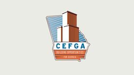 Construction Education Foundation of Goergia Logo Animation