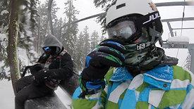 Snowboarding Sierra Mnt SouthTahoe