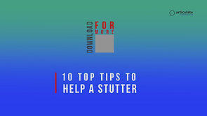 Download Tips to Cure Stuttering In Under 5's