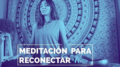Meditación para reconectar