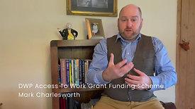 DWP Access To Work Grant Funding Scheme