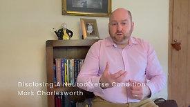 Disclosing A Neurodiverse Condition February 2021