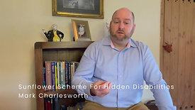 Sunflower Scheme For Hidden Disabilities February 2021
