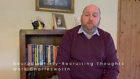 Neurodiversity The Job Applicants Perspective February 2021