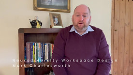Neurodiversity - Designing A Workspace February 2021