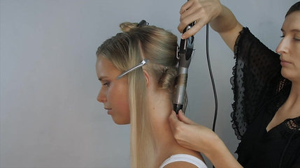 Glam Hair Tutorial with Extensions