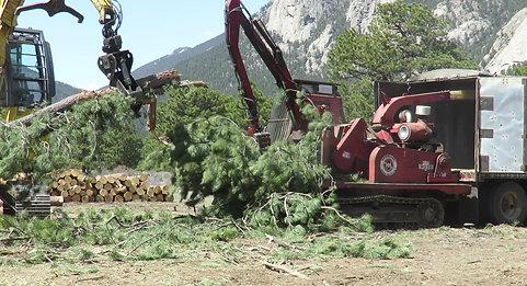 Morbark 20/36 Whole Tree Chipper