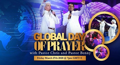 Global Day of Prayer March 27th, 2020