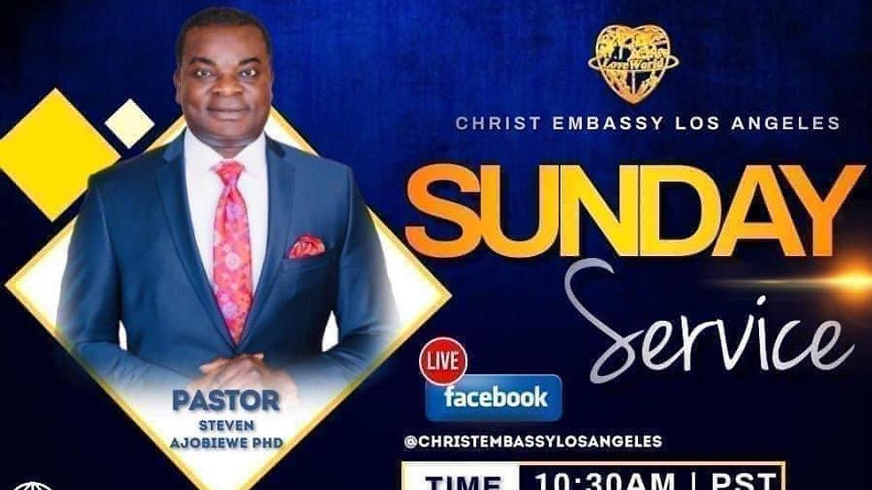 Sunday Service with Pastor Steven