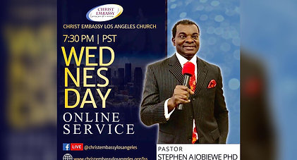 Christ Embassy Los Angeles Online Service - Wednesday Service May 20th, 2020