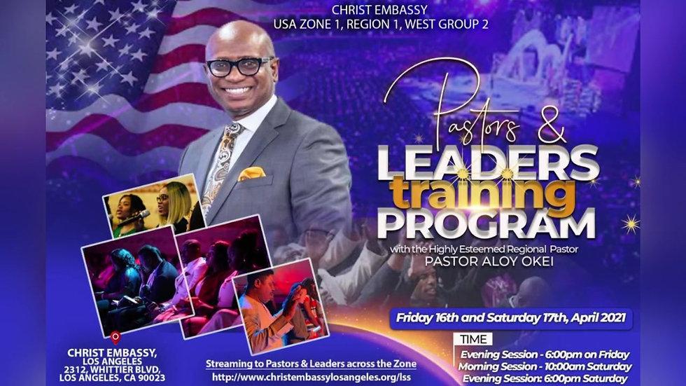 Pastors & Leaders Training Program