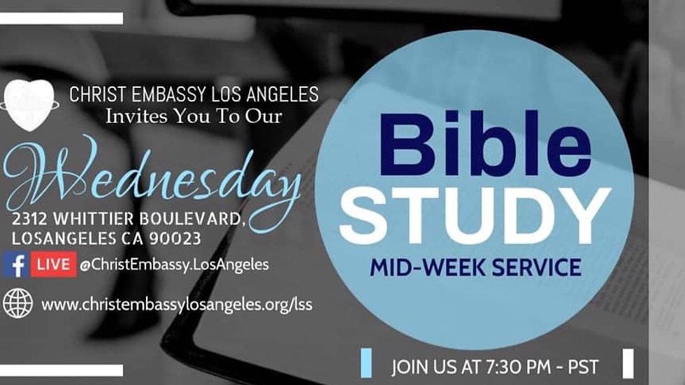 Mid Week Service | Wednesday December 2nd, 2020