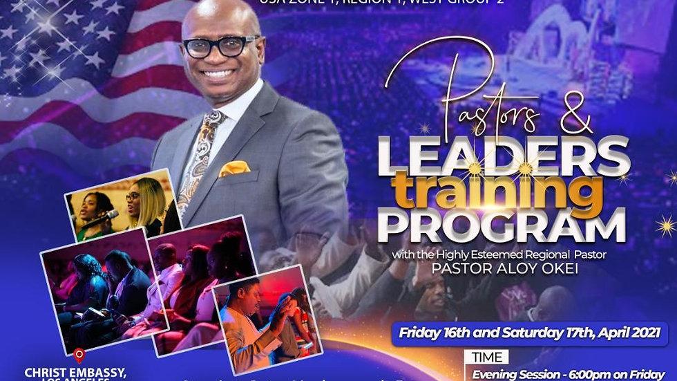Pastors & Leading Training Program