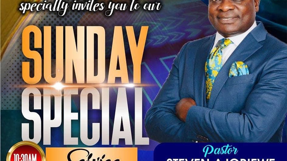 Sunday Service with Pastor Stephen