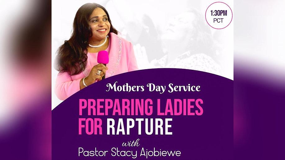 Mother's Day Celebration Service