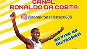 Sorteio Inscrição Super Atleta e Lançamento do Canal Ronaldo da Costa