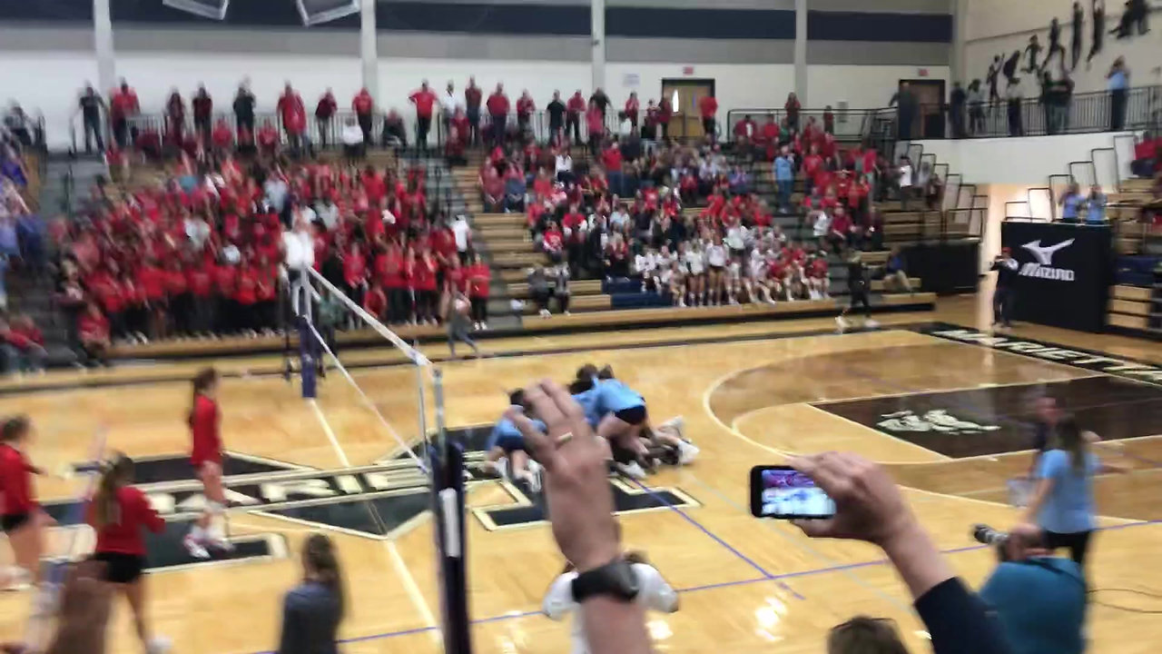 Match Point 6A State Playoffs 2018 POPE WINS!