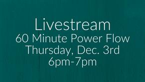 1 Hour Power Flow-Jessica Q.