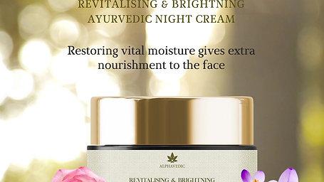 Revitalising & Brightening Night Cream