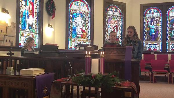 Children Singing Advent