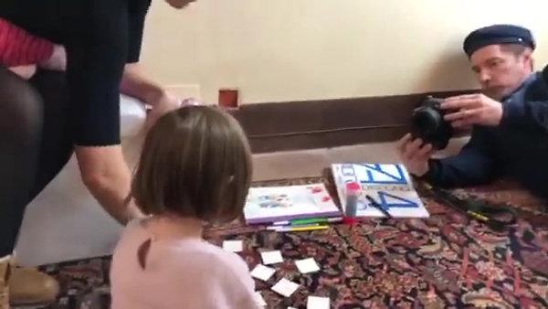 Ritratti di Bambini di Genya Gritchin