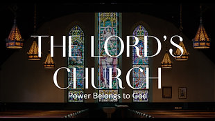 August 1, 2021 - The Lord's Church