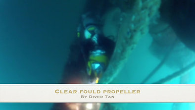 Clear Fould Propeller
