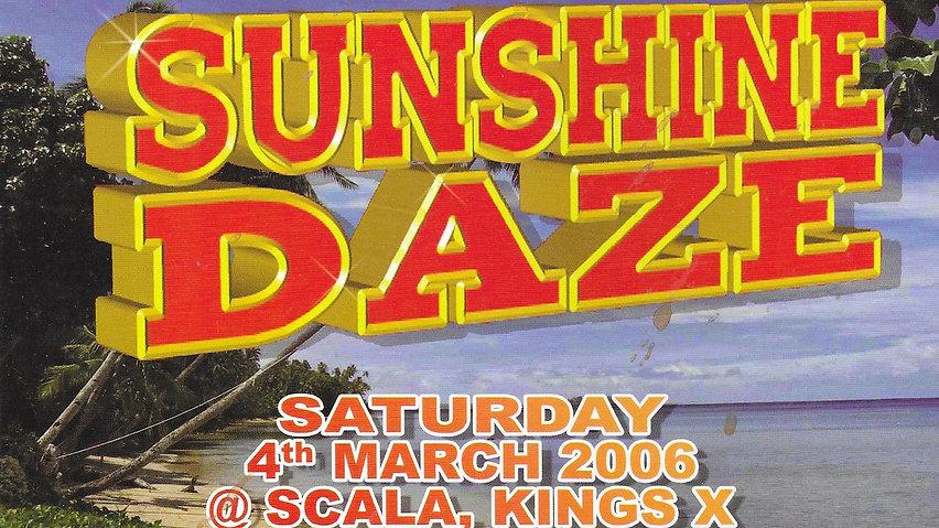 Sunshine Daze Live DVD