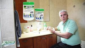 אקטיזיים מונע ריחות וסתימות בכיור מקלחת