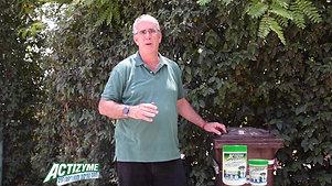 אקטיזיים מונע ריח בפח אשפה