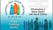 Wholesaling in Metro Detroit w/ David Gittens