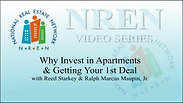 Why Invest in Apartments & Getting Your 1st Deal