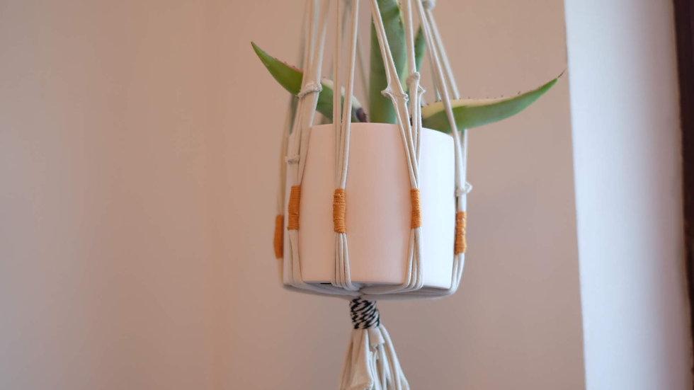DIY - hippe plantenhanger