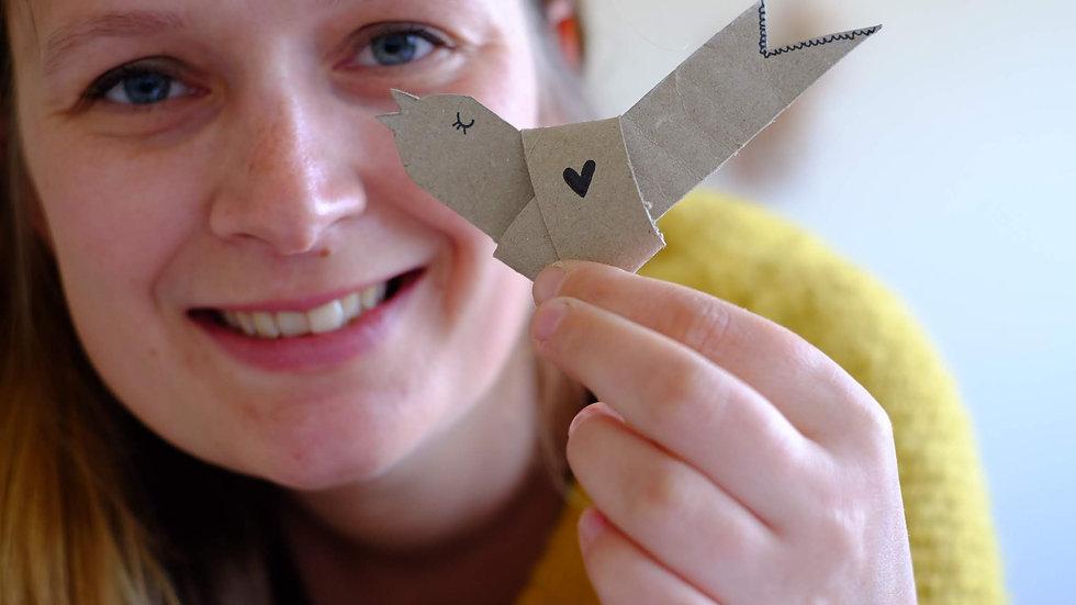 DIY - schattig vogeltje