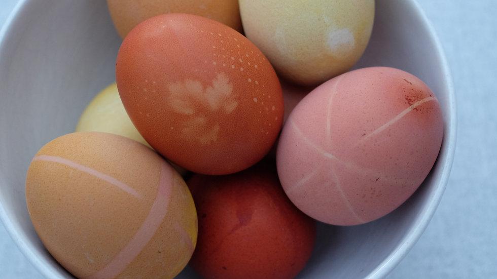 DIY - eieren kleuren