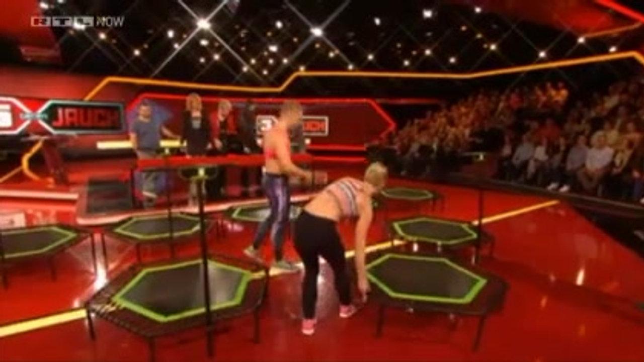 Jumping Fitness bei 5 gegen Jauch